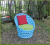 Synthetischer im Freienmöbel-Freizeit-Rattan-StuhlSpecial, der Weidenstuhl spinnt