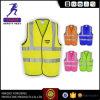 Fluorescente Weerspiegelende ANSI En20471 van het Vest van de Kleren van de Slijtage van het Werk van de Veiligheid