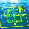 Sosta gonfiabile commerciale di sport di acqua di vendita calda per il mare