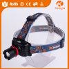 밝은 고품질 USB Headlamp 휴대용 다기능 옥외 Headlamp