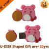 USB Pendrive (YT-PP) del PVC dentellare attuale del maiale del dolce