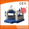 Aufblasbares Camelot blaues federnd Schloss T2-004