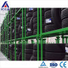 Shelving Foldable elevado do armazenamento de cremalheira do pneu da capacidade de carga
