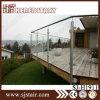 Escada Varanda Vidro temperado Corrimão / aço inoxidável escada de vidro trilhos (SJ-H023)