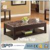Parte superiore domestica del marmo della Tabella del lato del tavolino da salotto della mobilia