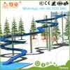 販売のための熱くか安い販売の遊園地の使用されたガラス繊維水スライド