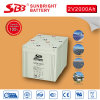 batteria del AGM 2V2000ah per le installazioni di telecomunicazione
