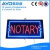 Знак Notary СИД энергии сбережения прямоугольника Hidly