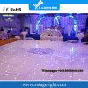 Vidro Temperado IP55 Branco ou RGB Star LED Dance Floor para Casamento Festa