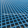 Reja moldeada fibra de vidrio cóncava de la superficie FRP