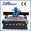 Гравировальный станок древесины CNC изменения 2 инструментов автоматический
