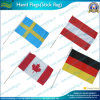 Bandeira personalizada Mão, Bandeira da vara para a mão que acena (NF01F02017)