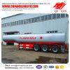 3 de Semi Aanhangwagen van de Tanker van de Brandstof van assen met Duitse Opschorting