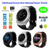 Montre intelligente de Bluetooth de cadeau neuf de promotion avec l'écran rond à pleine vue (KS2)