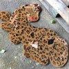 Forma em forma de animal Leopardo Tigre Leão Leão Vaca Elefante Cão Gato Peixe animal Peixe Flor Borboleta Coco Coir Fibra De coco Entrada de boas-vindas Piso Doormats Porta Mats
