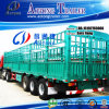 Saleのための三Axles Livestock Trailer Stake Semi Trailer