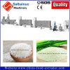 Línea alimenticia arroz artificial del arroz que hace la máquina