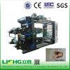 Machine d'impression flexographique à grande vitesse de 4 couleurs pour le papier de silicium