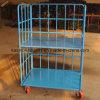 Mensola pieghevole del magazzino, gabbia di memoria, pallet del rullo, carrello logistico, contenitore del rullo (alta qualità)