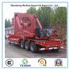 Acoplado vendedor caliente del transporte de la aspa del ventilador semi con precio de fábrica directo