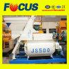 Смеситель непрерывного прочного вала конкретного смесителя Js500 твиновского конкретный
