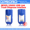 NEXIQ 125032 Diesel van de Verbinding USB + van de Software Vrachtwagen diagnostiseert Interface en Software