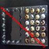 Bandejas plásticas usadas del huevo de codornices de la categoría alimenticia
