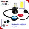 자동차와 기관자전차 LED 헤드라이트 H1 H4 H7 H11 880 881 Fanless LED 헤드라이트