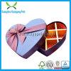 Boîte en forme de coeur à sucrerie de faveur de chocolat de mariage de papier