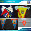 PE Triangle Bunting String Pennants Flags per Advertizing