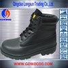 Soli pattini di sicurezza di gomma di cuoio del taglio della metà (GWRU-3013)