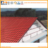 219mm Pitch Spacing Brick Red Synthetic Resin Roof Tiles