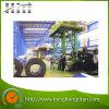 Cadena de producción revestida del color de la placa de acero