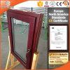 Europäische Art-rote Eichen-Holz-Neigung-/Drehung-Aluminiumfenster