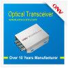 Приемопередатчик оптического волокна одиночного режима 4 каналов видео-