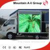 스크린을 광고하는 P10 옥외 트럭 이동할 수 있는 LED 가벼운 LED