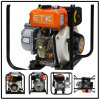 2  Diesel ambiental Water Pump com Orange Tank