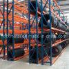 Justierbare Stahlgummireifen-Zahnstangen-vertikale Reifen-Speicher-Zahnstange