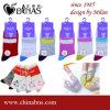 Bunte gekämmte Baumwollfreizeit-Socken für Frauen (15131, 0634, B81605)