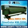 Km 3208 Digital Flex Printing Machine, 8 Km512 42pl Printhead에 3.2m 720dpi