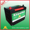 Batería de coche auto de la pila seca de JIS 60ah 12V N50z-Mf