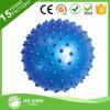 Bola azul claveteada 8 del masaje, de la aptitud, de la yoga, del ejercicio y de la gimnasia
