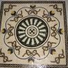 De Tegels van het Mozaïek van het medaillon van Marmer, Porselein, Onxy