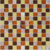 Red Stone Mosaic Glass Mix Teja (CS123)