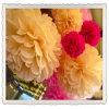 Decoraciones mezcladas de la boda del color y del tamaño POM POM
