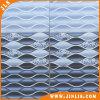 Mattonelle di ceramica rustiche della parete di disegno blu dell'onda del materiale da costruzione 2540