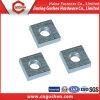 Noix DIN562 mince carrée galvanisée standard