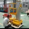 Teleskopischer Mann-Funktions-Aufzug-Aluminiumlegierung-hydraulischer Aufzug-Tisch