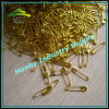 Vernikkeld China of Staal van de Kleur van het Nikkel het Vrije Gouden 19mm Veiligheidsspeld van Coild van de Spelden van de Lijn van de Veiligheid (P160714A)