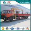 DFAC 6X4 Truck con 10 Ton Straight Arm Crane